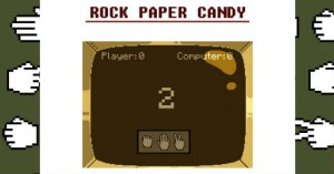 rock paper candy