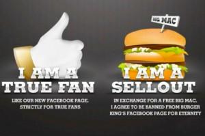 I'm a true fan (Burger King)