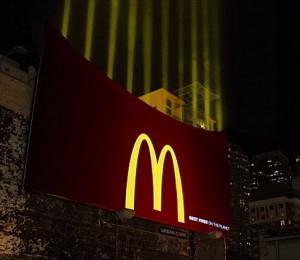 Panneaux publicitaire Mac Donald - Frites